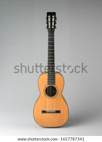American  Guitar, Chordophone-Lute-plucked-fretted, front, Musical Instruments #1657787341