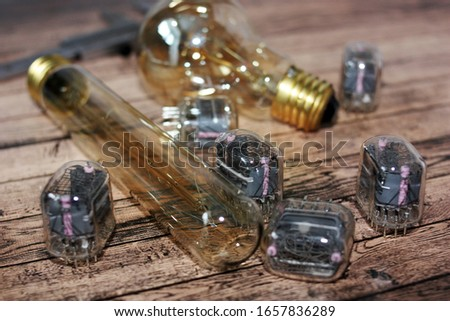 Gas discharge indicators and incandescent lamps #1657836289