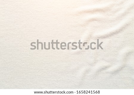 White towel texture  for background. #1658241568