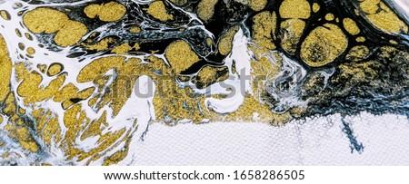 ิblack and white with golden watercolour abstract grunge background  #1658286505