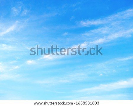 Natural sky beautiful blue and white texture background #1658531803