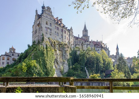 SIGMARINGEN/BW/GERMANY - September 26 2014: Castle Sigmaringen #1658960941