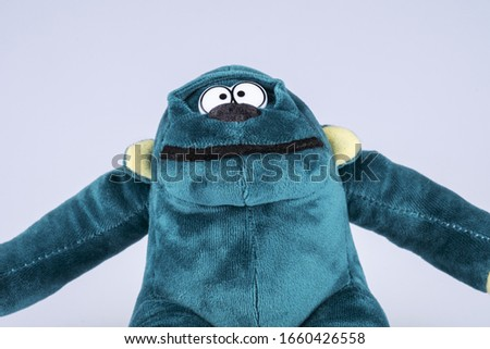 Stuffed toy monkey - a symbol of the new year