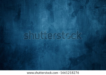 dark blue cement wall background
