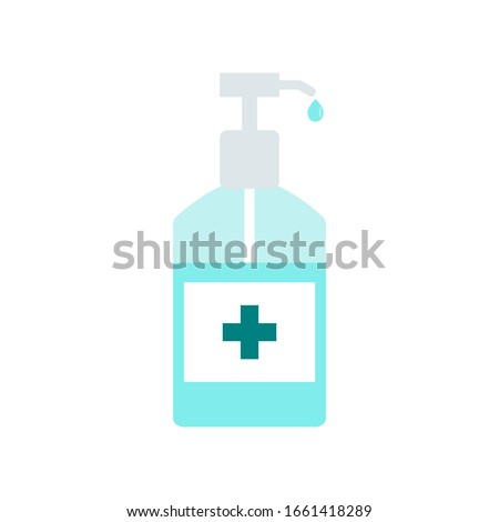Hand sanitizer pump bottle, washing gel, alcohol gel #1661418289