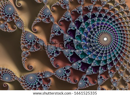 fractal wallpaper background abstract design Royalty-Free Stock Photo #1661525335