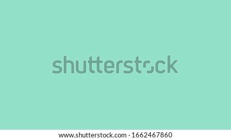 Plain green solid color background also know as Mint green color, a light shade of green. Royalty-Free Stock Photo #1662467860