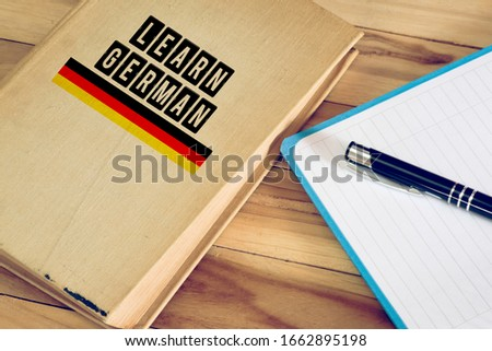 A book and learning German #1662895198
