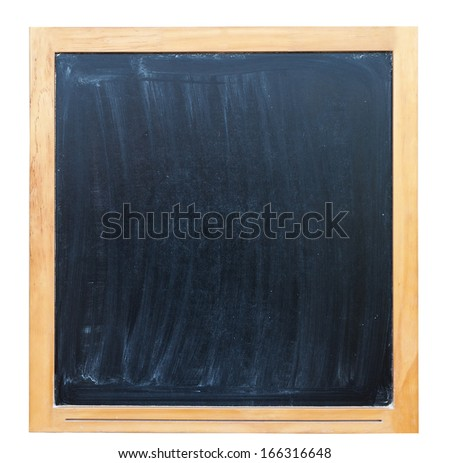 blackboard on white background #166316648