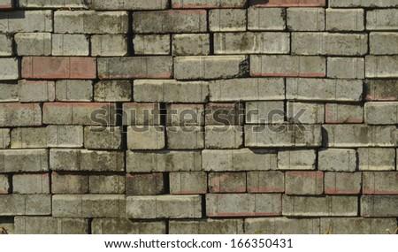 Stack of concrete blocks #166350431