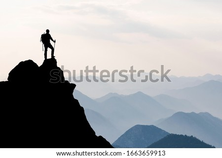 spectacular success story, struggle, perseverance and ambition Royalty-Free Stock Photo #1663659913