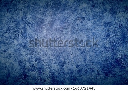 Blue wall texture or background close up #1663721443
