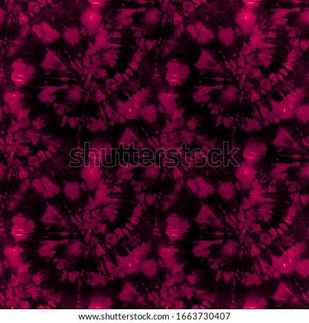 Swirl Hypno. Burgundy Tie Dyeing. Red Hypnosis Pattern. Psychedelic Swirls. Spiral Dyeing. Texture Hippie. Bright Swimwear. Hippie Background. Psychedelic Effect.
