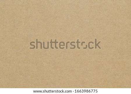 Brown paper texture for background from paper box part ,natural texture for design art work and decoration concept  #1663986775