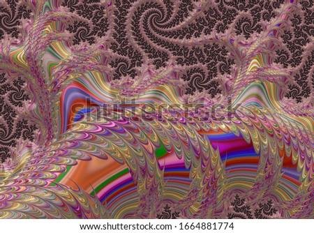 Fractal Abstract Pattern Wallpaper Art Background Fantasy  #1664881774