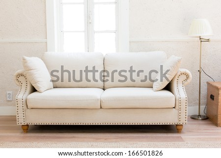 white sofa in the living room #166501826