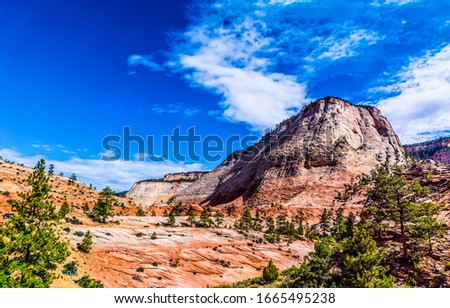 Red rock canyon mountains view. Mountain red rock. Red rock canyon mountains landscape #1665495238