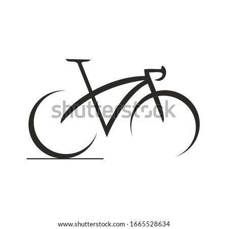 BIKE ICON ART ABSTRACT CYCLE
