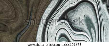 Marble stone texture as background, abstract surface for interior design, flat lay #1666101673