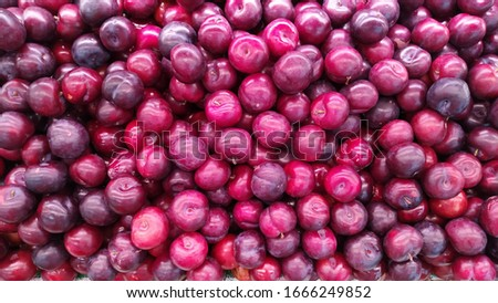 purple fresh fruit healthy matket #1666249852