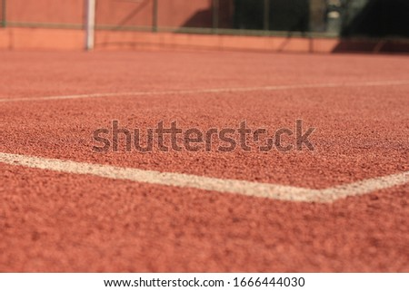 tennis game court for background #1666444030
