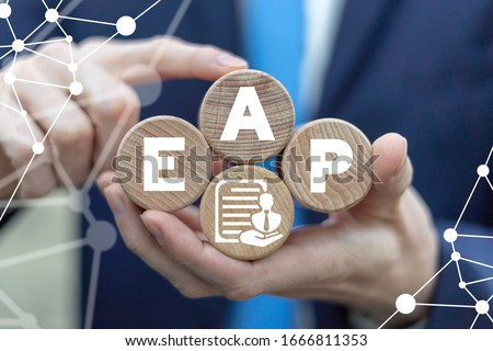 EAP Employee Assistance Program Business Care Concept. Royalty-Free Stock Photo #1666811353