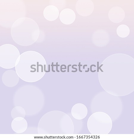 bokeh on purple background with clear centenaries