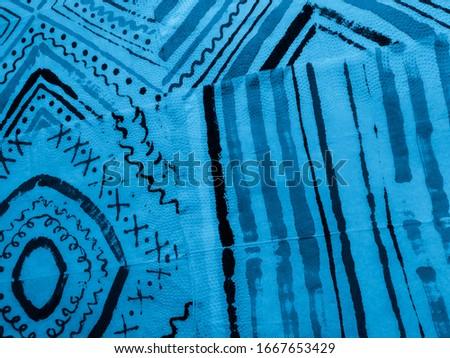 Modern Stripe. Sky Faded Stroke. Blue Stripe Texture. Water Color Stripe Pattern. Geometric Pattern Paint. Aqua Brush. Water Color Stripe Pattern. #1667653429