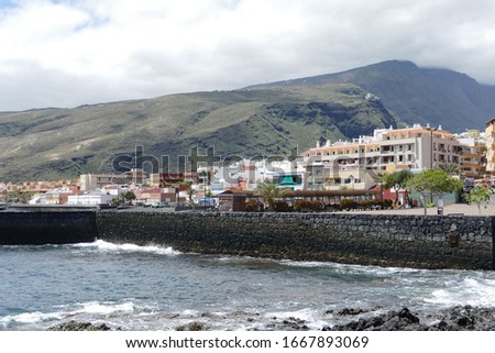 Photo Picture of the Beautiful Ocean Coast's View tenerife
