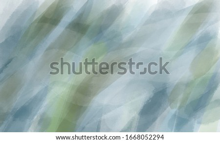 Abstract hand drawn cold blue background. Grunge style. #1668052294