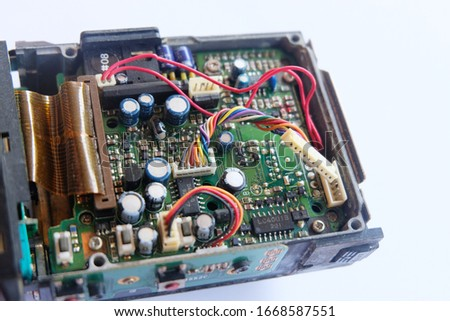 Internal circuit board of radio communication equipment #1668587551