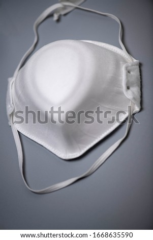 protective face mask isolated on gray background ,include clipping, path #1668635590