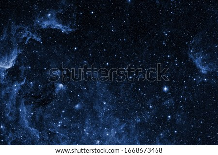View of the space from the moon. Elements of this image furnished by NASA Royalty-Free Stock Photo #1668673468