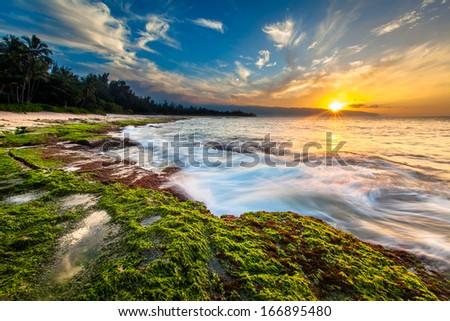 Going to the Sun Royalty-Free Stock Photo #166895480