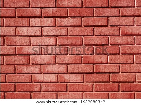 Red brick wall background or texture. #1669080349