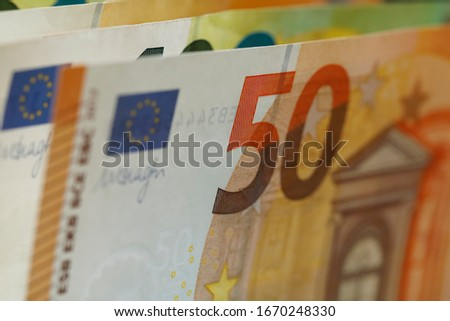 Banknotes commonly called paper money. The currency of the euro area have been in circulation since 2002 and Euro banknotes are not made of paper, but of pure cotton fiber to improve their durability. #1670248330