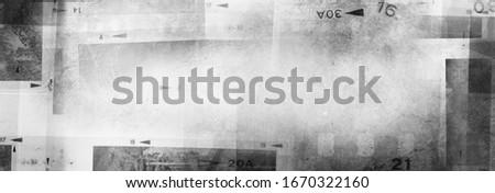 Film negative frames background. Copy space Royalty-Free Stock Photo #1670322160