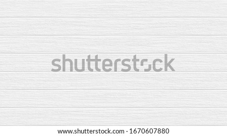 White grey wood oak color texture horizontal for background. Surface light clean of table top view. #1670607880