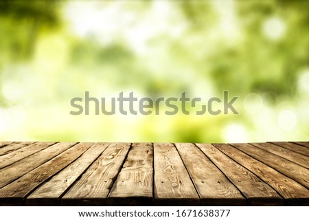 Table background of free space for your decoration and spring time.
