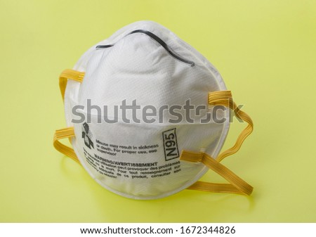 N95 Respirators Not for Use by the Public. Surgical Masks (Face Masks). Coronavirus Disease (COVID-19) #1672344826