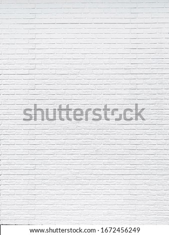 Close up rustic white brick wall texture background #1672456249