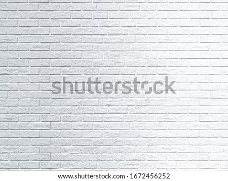Close up rustic white brick wall texture background #1672456252