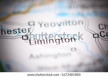 Limington. United Kingdom on a geography map #1672481800
