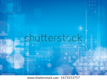 abstract blue background . vector digital image. Royalty-Free Stock Photo #1673253757