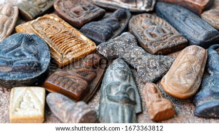Thai amulets come in a wide variety of styles, Buddhist Sacred,Buddha amulets #1673363812