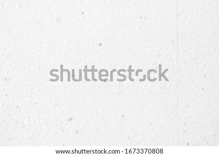 White Raw Concrete Wall Texture Background, Suitable for Backdrop and Mockup. #1673370808