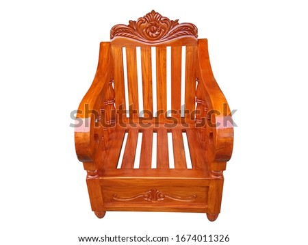 Chair are use for setting  #1674011326
