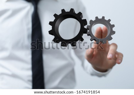 Engineering And Design Image gears #1674191854