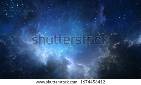dark cold universe monochromatic  background texture 3d rendering 3d illustration