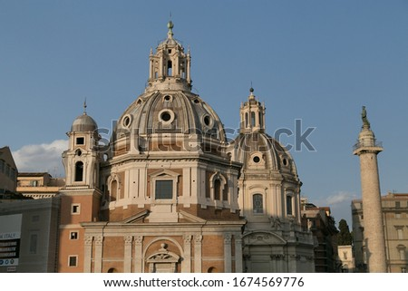 Rome is a beautiful and charming city, with its Roman architecture #1674569776